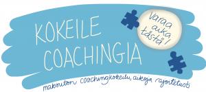 Kokeile coachingia johtajavalmennus coaching demo